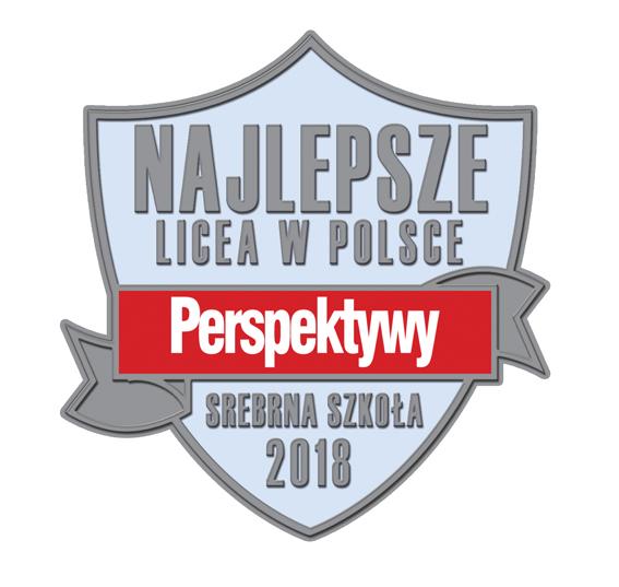 Znalezione obrazy dla zapytania srebrna szkoła perspektyw 2018